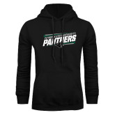 Black Fleece Hood-Panthers Fancy Lines