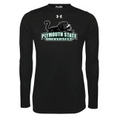 Under Armour Black Long Sleeve Tech Tee-Secondary Mark