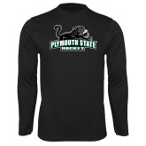 Syntrel Performance Black Longsleeve Shirt-Hockey