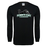 Black Long Sleeve T Shirt-Lacrosse