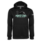 Under Armour Black Performance Sweats Team Hoodie-Secondary Mark