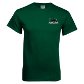 Dark Green T Shirt-Secondary Mark