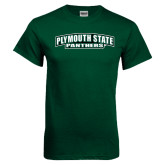 Dark Green T Shirt-Plymouth State Panthers
