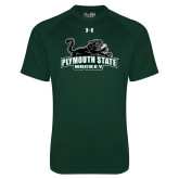 Under Armour Dark Green Tech Tee-Hockey