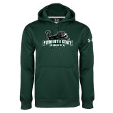 Under Armour Dark Green Performance Sweats Team Hoodie-Hockey