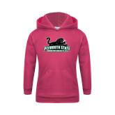 Youth Raspberry Fleece Hoodie-Secondary Mark
