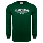 Dark Green Long Sleeve T Shirt-Dad