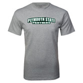 Grey T Shirt-Plymouth State Panthers