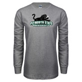 Grey Long Sleeve T Shirt-Secondary Mark