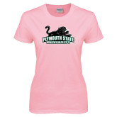 Ladies Pink T-Shirt-Secondary Mark