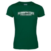 Performance Dark Green Tee-Plymouth State Panthers