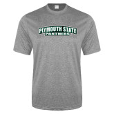 Performance Grey Heather Contender Tee-Plymouth State Panthers