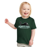 Toddler Dark Green T Shirt-Secondary Mark
