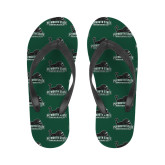 Ladies Full Color Flip Flops-Secondary Mark