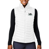 Columbia Mighty LITE Ladies White Vest-Primary Mark