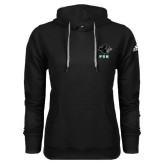 Adidas Climawarm Black Team Issue Hoodie-PSU Stacked w/ Panther Head