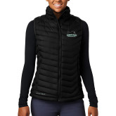 Columbia Lake 22 Ladies Black Vest-Secondary Mark