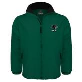 Dark Green Survivor Jacket-PSU Stacked w/ Panther Head