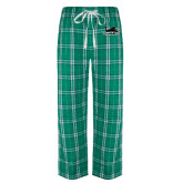 Green/White Flannel Pajama Pant-Secondary Mark