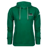 Adidas Climawarm Dark Green Team Issue Hoodie-Secondary Mark