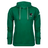 Adidas Climawarm Dark Green Team Issue Hoodie-PSU Stacked w/ Panther Head