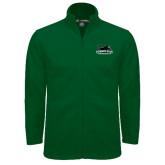 Fleece Full Zip Dark Green Jacket-Secondary Mark
