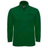 Fleece Full Zip Dark Green Jacket-Plymouth State Panthers
