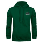 Dark Green Fleece Hood-Secondary Mark