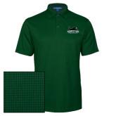 Dark Green Performance Fine Jacquard Polo-Secondary Mark