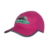 Pink/Charcoal Trail Blaze Cap-Secondary Mark