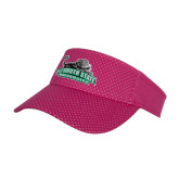 Pink Athletic Mesh Visor-Secondary Mark