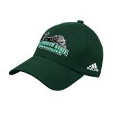 Adidas Dark Green Structured Adjustable Hat-Secondary Mark