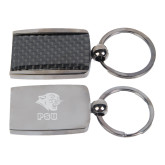 Corbetta Key Holder-PSU Stacked w/ Panther Head Engraved