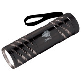 Astro Black Flashlight-PSU Stacked w/ Panther Head Engraved