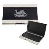 Bey Berk Carbon Fiber Business Card Holder-Secondary Mark Engraved