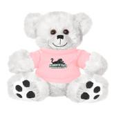 Plush Big Paw 8 1/2 inch White Bear w/Pink Shirt-Secondary Mark