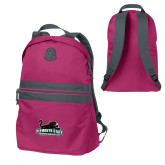 Pink Raspberry Nailhead Backpack-Secondary Mark