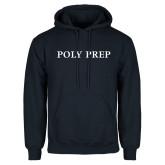 Navy Fleece Hoodie-Poly Prep
