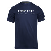 Russell Core Performance Navy Tee-Poly Prep Country Day School
