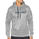 Adidas Grey Team Issue Hoodie-Poly Prep Country Day School