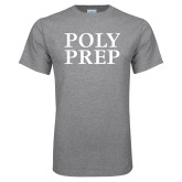 Grey T Shirt-Poly Prep Stacked