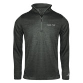 Russell Charcoal Heather 1/4 Zip-Poly Prep Country Day School