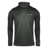 Russell Charcoal Heather 1/4 Zip-Poly Prep