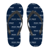 Full Color Flip Flops-Poly Prep Country Day School
