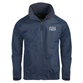 Navy Charger Jacket-Poly Prep Stacked