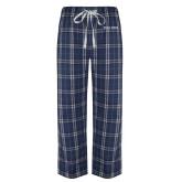 Navy/White Flannel Pajama Pant-Poly Prep