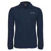 Fleece Full Zip Navy Jacket-Poly Prep