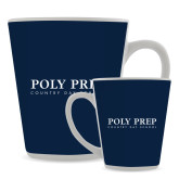 Full Color Latte Mug 12oz-Poly Prep Country Day School