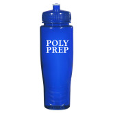 Spectrum Blue Sport Bottle 28oz-Poly Prep Stacked