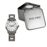 Ladies Stainless Steel Fashion Watch-Poly Prep Country Day School